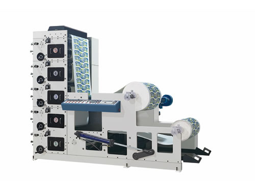 RB-650 4-6 Color Flexo Printing Machine